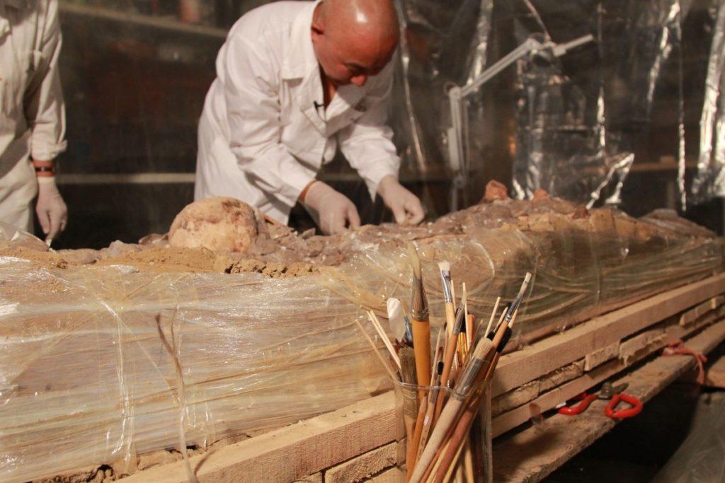 Казахстанские ученые реконструировали облик Урджарской принцессы, найденной в Урджаре