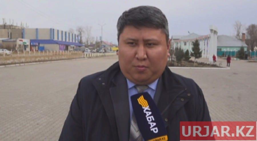 Хамитов Дидар - заместитель Урджарского района ВКО