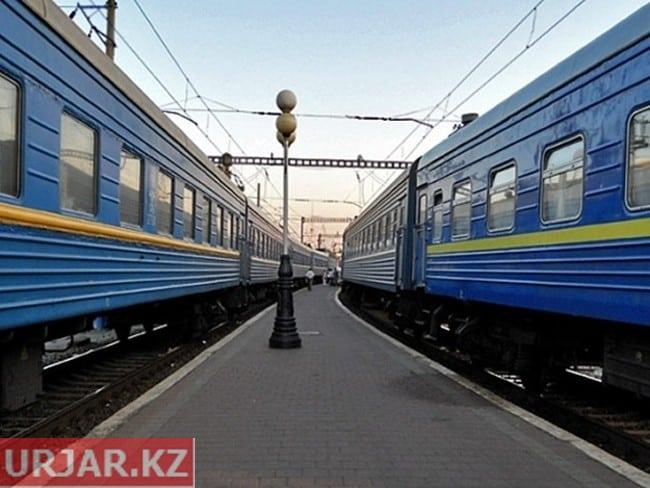 Поезд из Семея в Алаколь