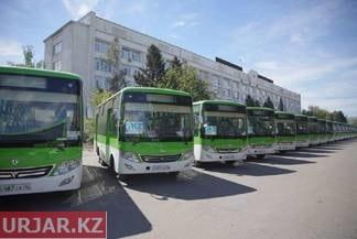 Новые автобусы в городе Семей так и не вышли на линию