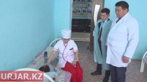 Реконструкция медучреждений началась в Таскескене