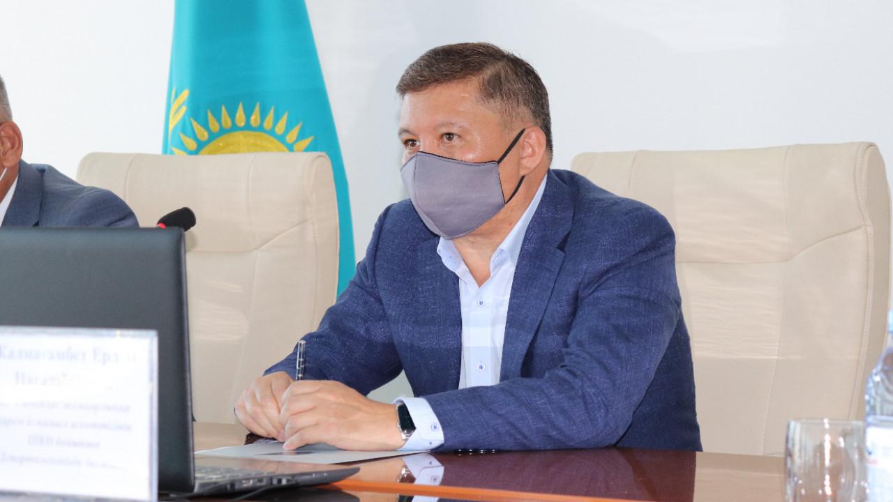 Руководитель Антикоррупционной службы по ВКО Ерлан Жалмағамбет посетил Урджарский район.