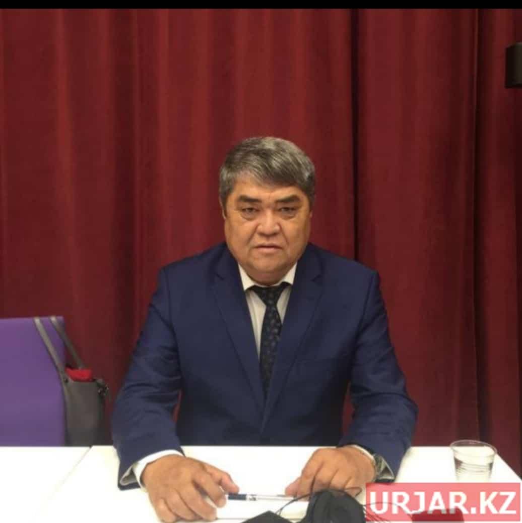 Аким Кокпектинского района - Серикказы Садвакасов