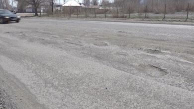 Новые дороги в Урджаре нуждаются в ремонте
